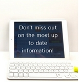 Don't miss out on the most up to date information