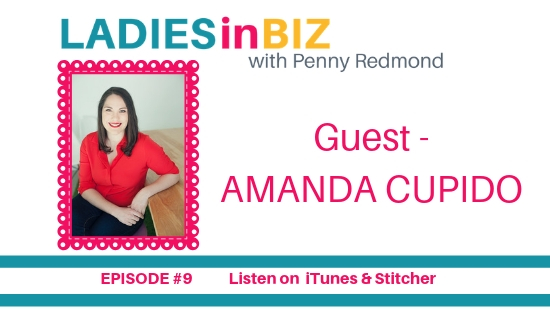 EPISODE # 9 – AMANDA CUPIDO – LEARN ABOUT PODCASTING