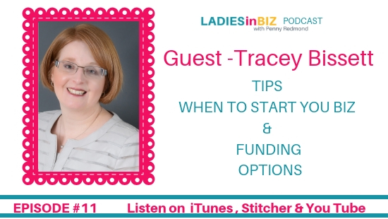 EPISODE #11 – TRACEY BISSETT – LEARN HOW TO BE FINANCIALLY SAVVY